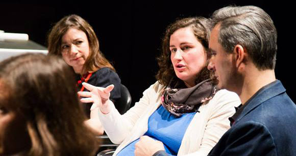 The #SociableMuseum panel at MuseumNext Geneva, April 2015